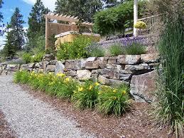 rock walls landscaping as rock wall landscaping ideas