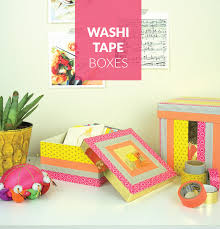 Decorating Boxes With Paper Washi Tape Decorative Boxes 36