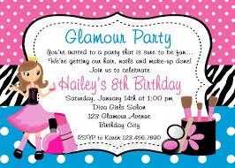 Printable Birthday Invitations For Girl Free Invitation Templates