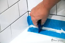 bathtubs recaulk bathtub faucet these instructions for how to caulk a bathtub are super easy