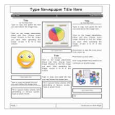 Newspaper Article Template Students 5 Handy Google Docs Templates For Creating Classroom