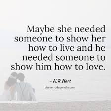 Love Quotes About Him Extraordinary 48 Beautiful NR Hart Love Quotes with Images