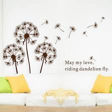 trusted wall decor sticker free 5 pc lot cute dandelion decorative decal tree kid bedroom 44 l in from home for living room sri lanka flipkart nz