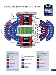 Penn St Stadium Seating Chart Going To The Penn State Game Page 5
