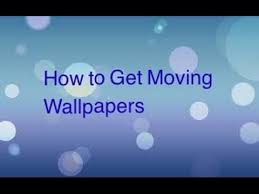 moving wallpapers iphone ipod