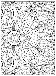 perfect cool coloring pages of flowers collection doentation at