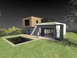 Construction Maison Contemporaine Bois Prix