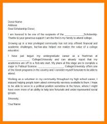 how to write a thank you letter for a scholarship 13