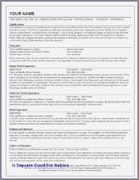 Day Care Experience On Resume 47 Beautiful Child Care Worker Cover Letter No Experience
