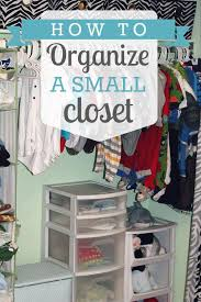 make the best of your small closet