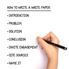 Pen and paper White Papers