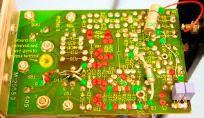 quad amplifier information and modification ~ the marked up picture of my first quad 405 modification left shows changes or additions in green and removed items in red