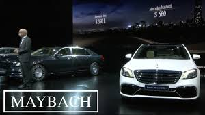 2018 maybach s680. delighful maybach 2018 mercedes sclass maybach s680 world debut  shanghai auto show with maybach s680 m