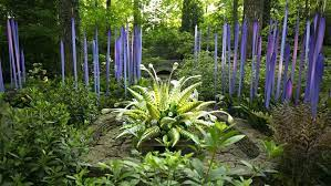 art review chihuly in the garden at