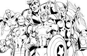 With 15 different coloring pages, you can print them all & put them together for a fun avengers coloring book. Avenger Coloring Pages Coloring Home