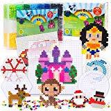 Amazon Com H W 24 Colors 5mm Fuse Bead Set Compatible Kids