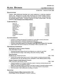Basic Skills For A Resume 7 Resume Basic Computer Skills Examples Sample Resumes