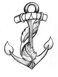 Small Picture 25 best Anchor drawings ideas on Pinterest Anchor thigh tattoo