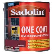 Sadolin Classic Colour Chart Sadolin Advanced One Coat Woodstain Mahogany 2 5l
