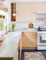 White wood kitchen Contemporary Of 40 Houseandhome Hot Look 40 Light Wood Kitchens We Love