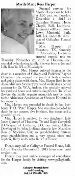 Myrtle Marie Harper obituary - Newspapers.com