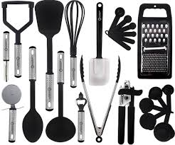 kitchen utensils images. Modren Images Cooking Utensils Set U2013 23 Pieces Nylon Kitchen UtensilsGadgetsCookware  Sets By Lux Dcor Collection With Images S