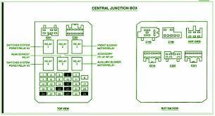 2000 ford windstar central junction fuse box diagram circuit 2000 ford windstar central junction fuse box diagram