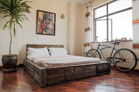 industrial bedroom furniture. Both Design And Function This Bunk Bed An Rustic Industrial Bedroom Furniture Piece In T