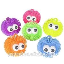 ball yoyo. 5 inch yoyo puffer ball with convex big eyes stress for kids children yoyo i