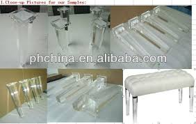 furniture legs acrylic lucite. ATL-008 TAPERED ACRYLIC FURNITURE LEG,CLEAR STOOL LEG,LUCITE BENCH Furniture Legs Acrylic Lucite