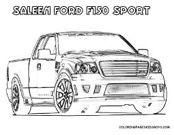 ford raptor coloring scarce ford f150 coloring page