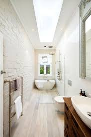 How to Draw the Long Narrow Bathroom Layout - Home Interior Design