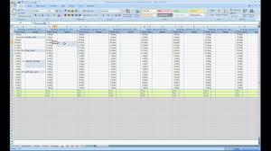 Weekly Appointment Calendar Excel Free Excel Contact Appointment Scheduler Youtube
