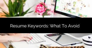 Resume Keywords What To Avoid Virtual F1 Coworking Space