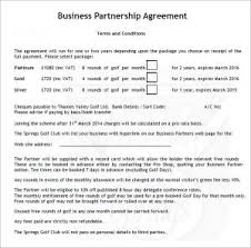 Business Partnership Agreement | Template Business