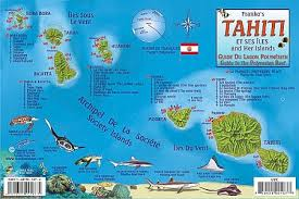 tahiti road maps, detailed, travel, tourist, driving Where Is Tahiti On The Map tahiti reef creatures guide (fish card), road and recreation map tahiti on map