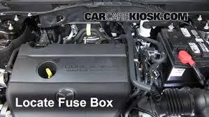 replace a fuse 2009 2013 mazda 6 2012 mazda 6 i 2 5l 4 cyl 3 remove cover locate engine fuse box and remove cover