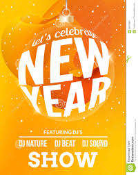 happy new year festive flyer design template holiday background happy new year festive flyer design template holiday background poster celebration vector party invitation