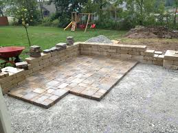 cost to install paver patio fresh fresh amazing how to lay patio pavers