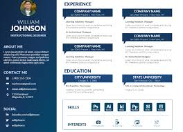 Virtual Resumes Free Powerpoint Visual Resume Template Mike Taylor