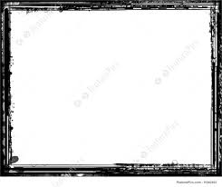 vintage black frame. Vintage Photo Frame, Black White Grunge Border: Border Over Frame