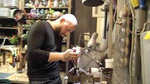 Vlad Blad Working In His Workshop влад блад за работой