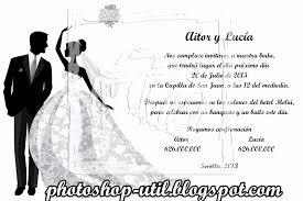 formato de invitaciones de boda tarjetones de boda elegante formato para invitaciones de boda