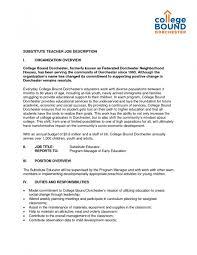 Sample Resume Cover Letter For Teacher Letter Of Application
