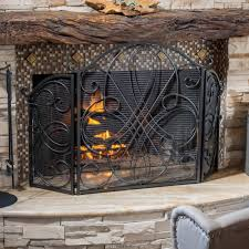 Christopher Knight Home Kingsport Fireplace Screen - Free Shipping Today -  Overstock.com - 16762758
