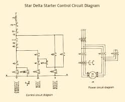 star delta starter control power circuit diagram elec eng world star delta starter control power circuit diagram