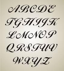 fancy letter stencils