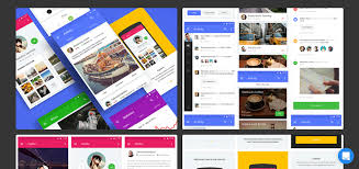 Free Material Design Ui Kit 2018 Top 40 Free Kits And Icon Sets