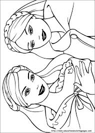 Small Picture Barbie Girl Coloring Pages Games Coloring Pages