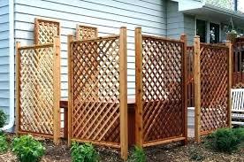 free standing trellis panels fresh mesmerizing outdoor patio privacy screen ideas fencing trellises pri